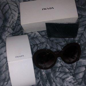 PRADA 'baroque' sunglasses